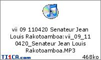 vii 09 110420 Senateur Jean Louis Rakotoamboa