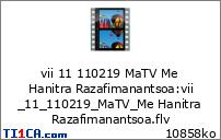 vii 11 110219 MaTV Me Hanitra Razafimanantsoa